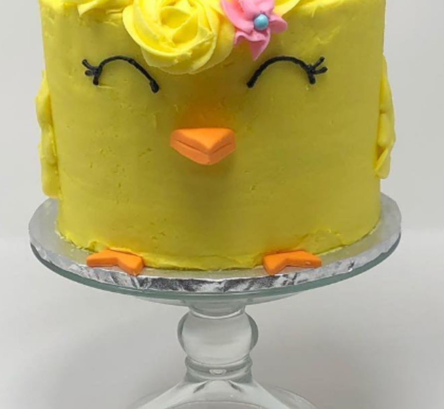 Gâteau vanille Keto / Cétogène (glu: 2 g net / portion)