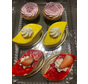 Gâteau fraises, citrons et tarte aux bleuets (Paquet de 6) Keto / Cétogène