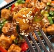Sublime Créations Tofu frit au miso