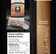 Crèmerie La Plaine Barres glacées (3) Keto/Cétogène (glu: 2 g / barre)