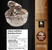"Crèmerie La Plaine Gâteau glacé (6"") Keto/Cétogène (glu: 4 g / 200 g)"