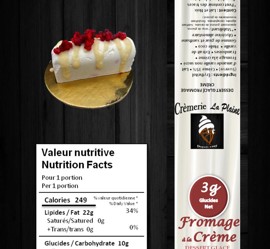 Gâteau individuel glacé Keto/Cétogène (glu: 2 g)