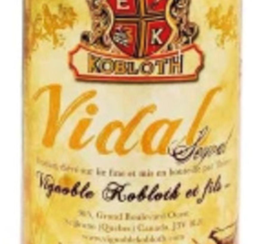 Vidal 2017, vin blanc sec et fruité (glu: 0 g/L)
