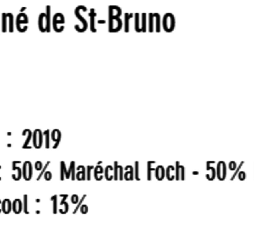 Rouge Signé de St-Bruno nature (glu: 0 g/L)