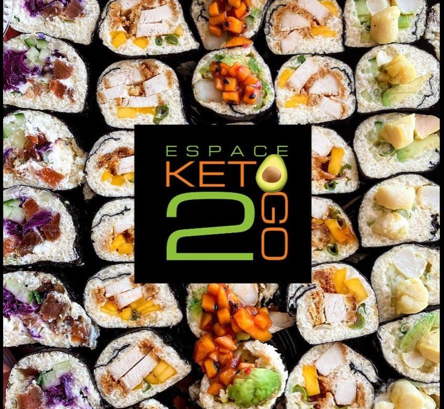 Sushi variés Keto/Cétogène (8 morceaux)
