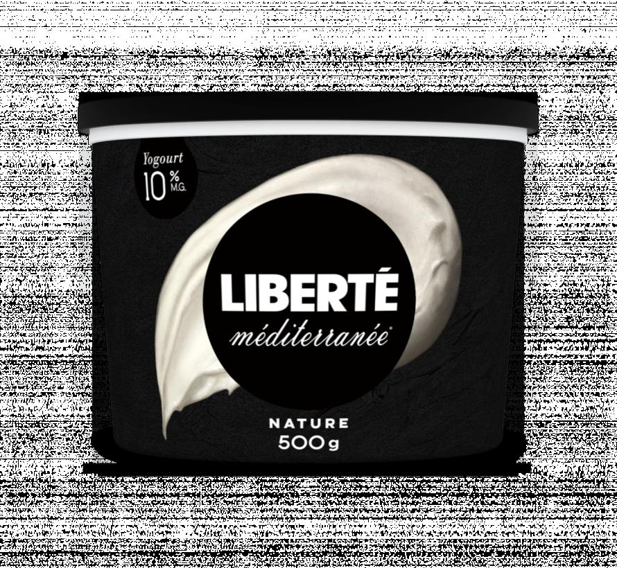 Yogourt Liberté Méditerranée  10%, 500g