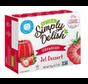 Simply Delish, caisse de 6x20g - 4 saveurs