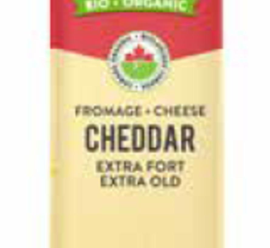 L'Ancêtre cheddar extra-fort sans lactose (200g)