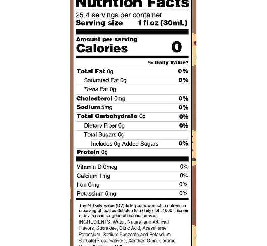 "Skinny Syrups ""Pâte à biscuit"" (750 ml)"