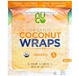 NUCO TURMERIC - Wraps de noix de coco bio, 70g (5 wraps)