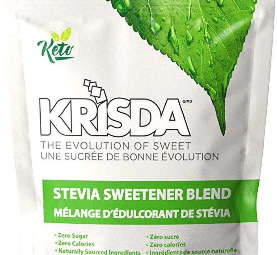 Krisda - mélange d'édulcorant de Stévia, 454g