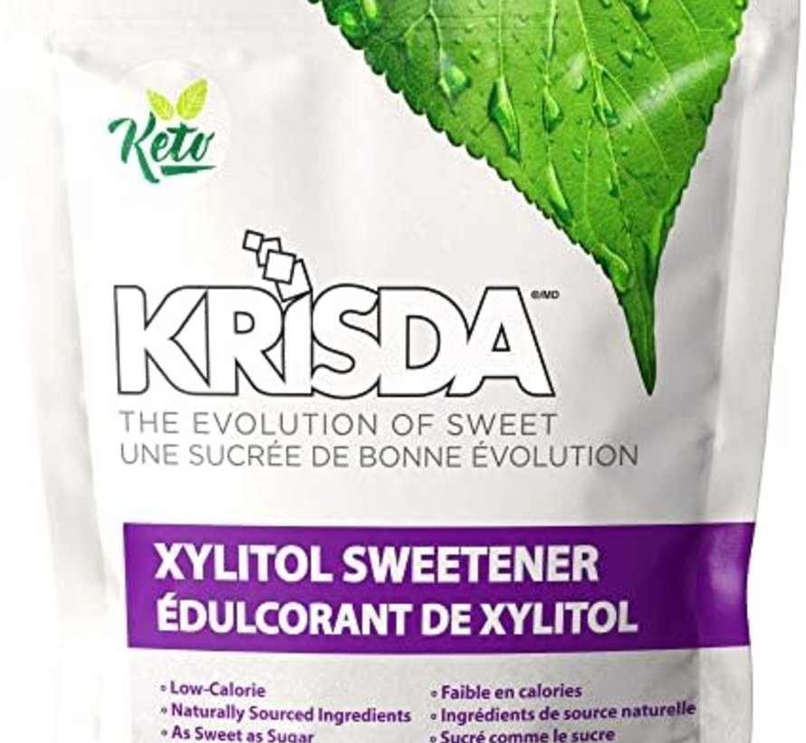Krisda - édulcorant de xylitol, 454g