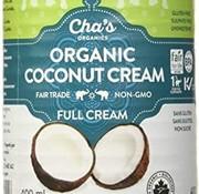 Cha's Crème de coco bio, 400ml