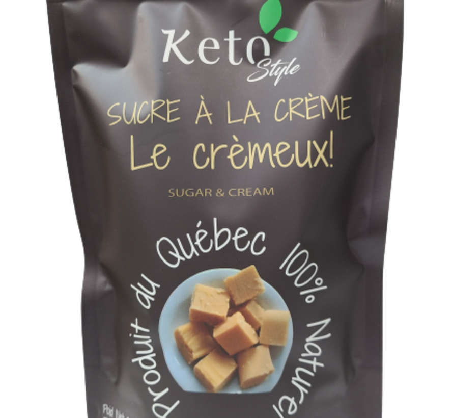 Mélange sucre à la crème le crémeux Keto/Cétogène  (370 g)
