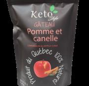 Keto Style Mélange Gâteau/Muffin/Pain pommes et cannelle Keto/Cétogène (275 g)