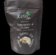 Keto Style Mélange Soupe/Sauce champignons et sésame Keto / Cétogène (25 g)