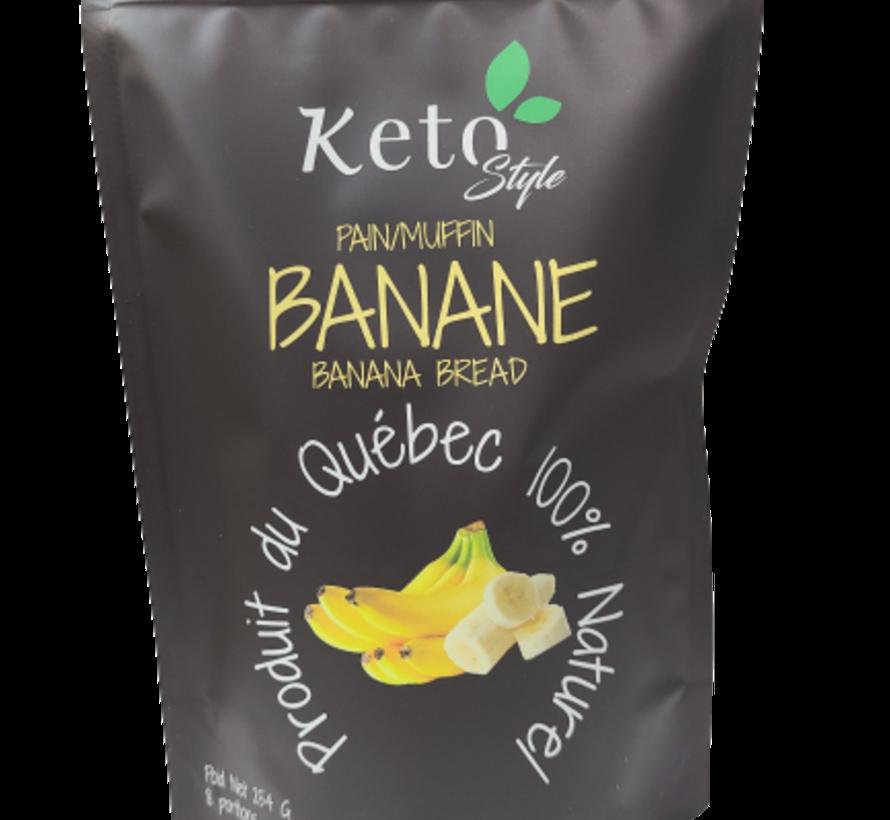 Mélange gâteau pain aux bananes Keto / Cétogène (264 g)