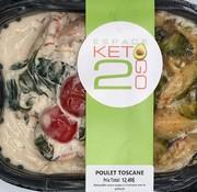 Keto2go Poulet Toscane Keto / Cétogène (glu: 7,0 g)