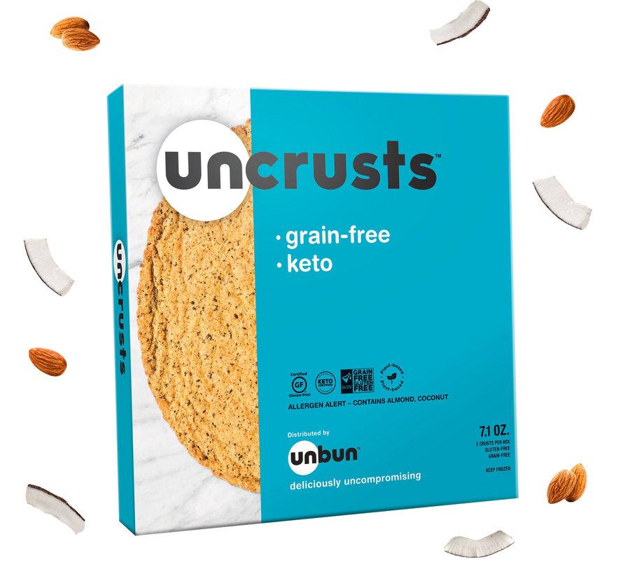 Uncrust Pizza UNBUN - Farine d'amande (2 croutes de 100 g)