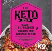 The Keto Oven Spaghetti sauce bolognaise au boeuf, 375g