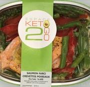 Keto2go Saumon farci crevettes poireaux keto / Cétogène (glu: 7,0 g)