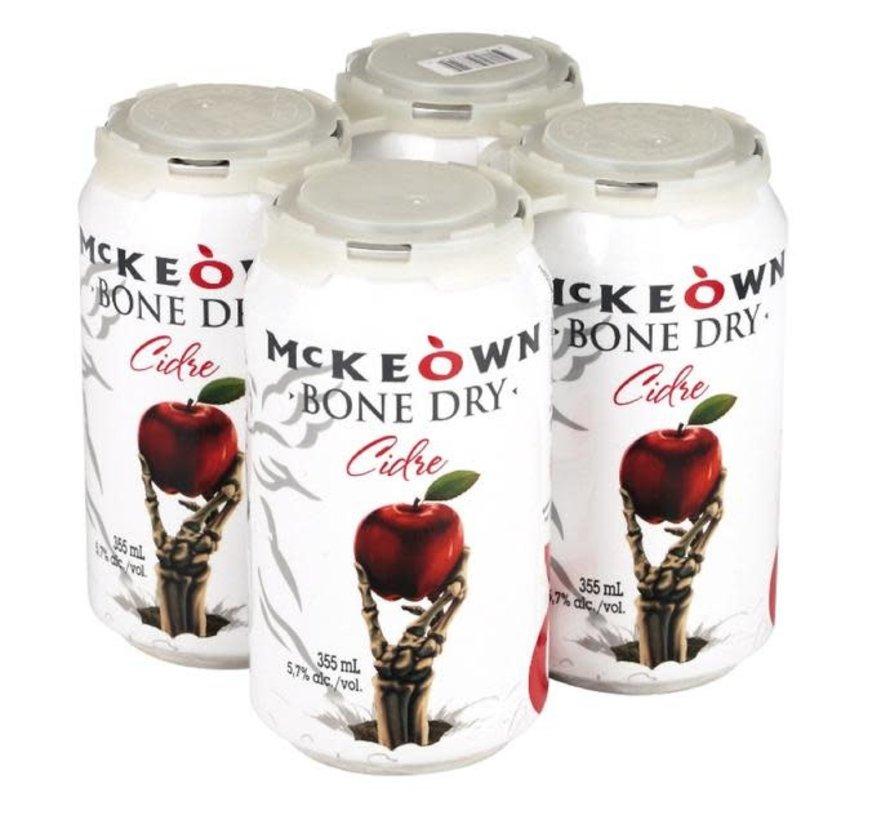 Cidre McKeown Bone Dry, 4x355ml