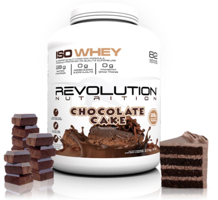 Vrac - 1lb protéine iso (révolution) Choco