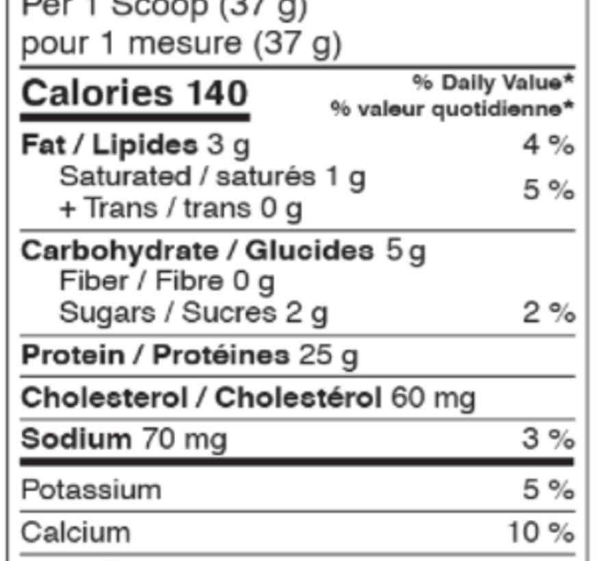 Vrac - 1lb protéine whey (révolution) Choco