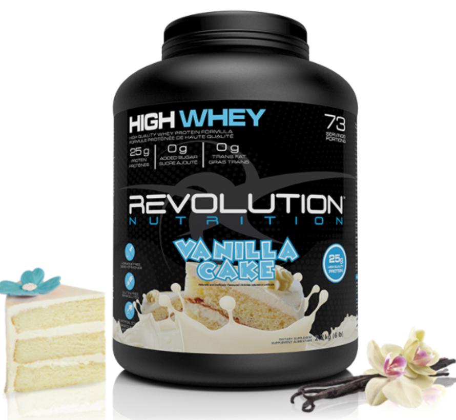 Vrac - 1lb protéine whey (révolution) VAN
