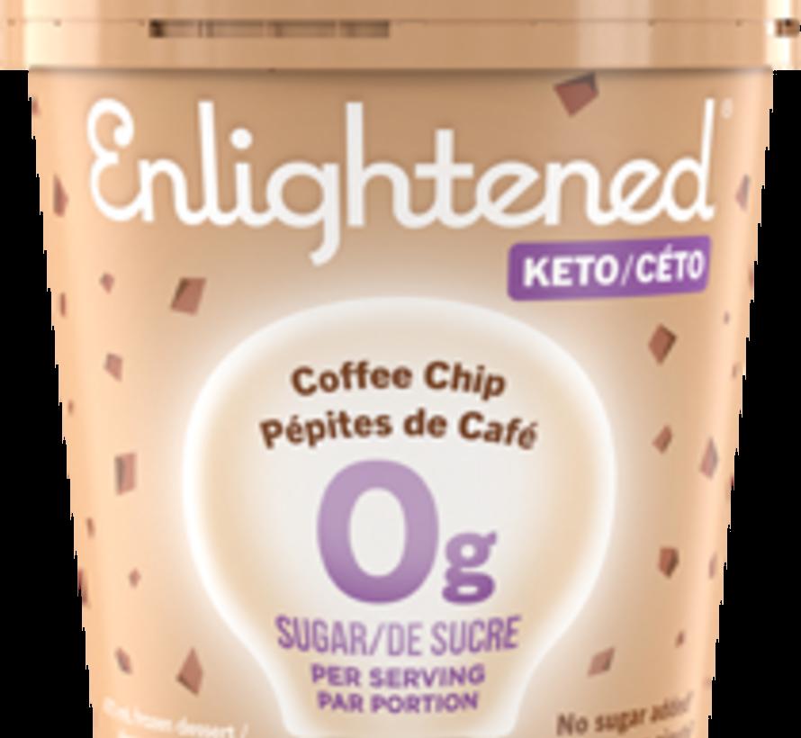 Enlightened, Crème glacée (pépites de café, 473ml)