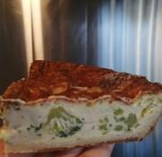 Tout un fromage Quiche familiale (brie et brocoli) - 9 pouces