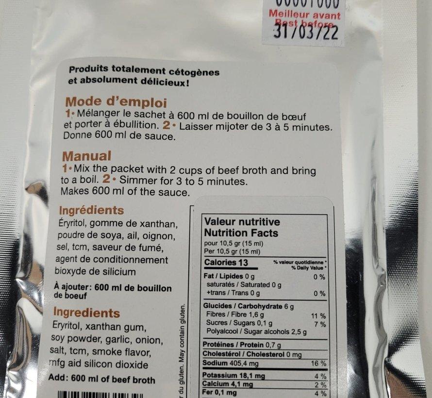 Mélange sauce à poutine Kéto Délice, 36g