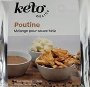 Kéto Délice Mélange sauce à poutine Kéto Délice, 36g