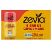 Zevia Zevia bière de gingembre (caisse de 6)