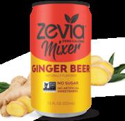 Zevia Zevia bière de gingembre (1 cannette)