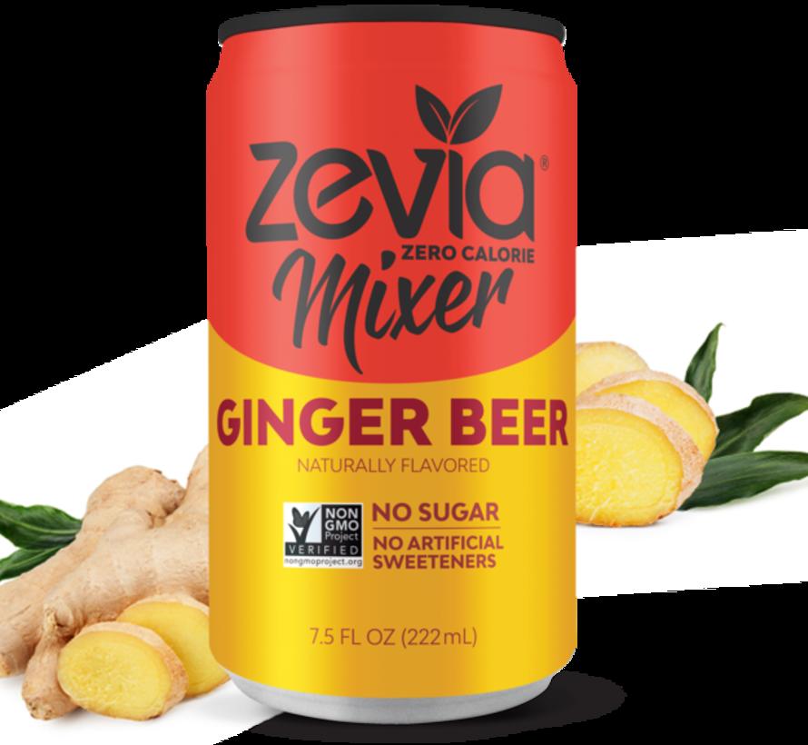Zevia bière de gingembre (1 cannette)