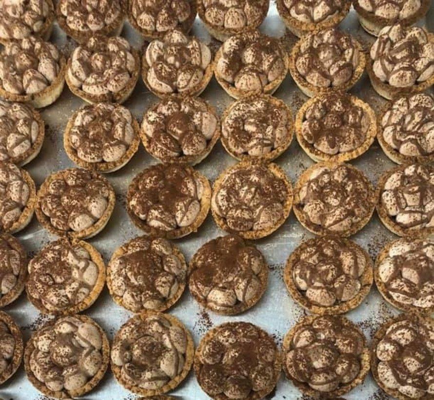 Tartelette au chocolat Keto (glu: 3,0 g)