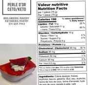 Perle D'or Petit gâteau aux fraises Keto (glu: 3,0 g)