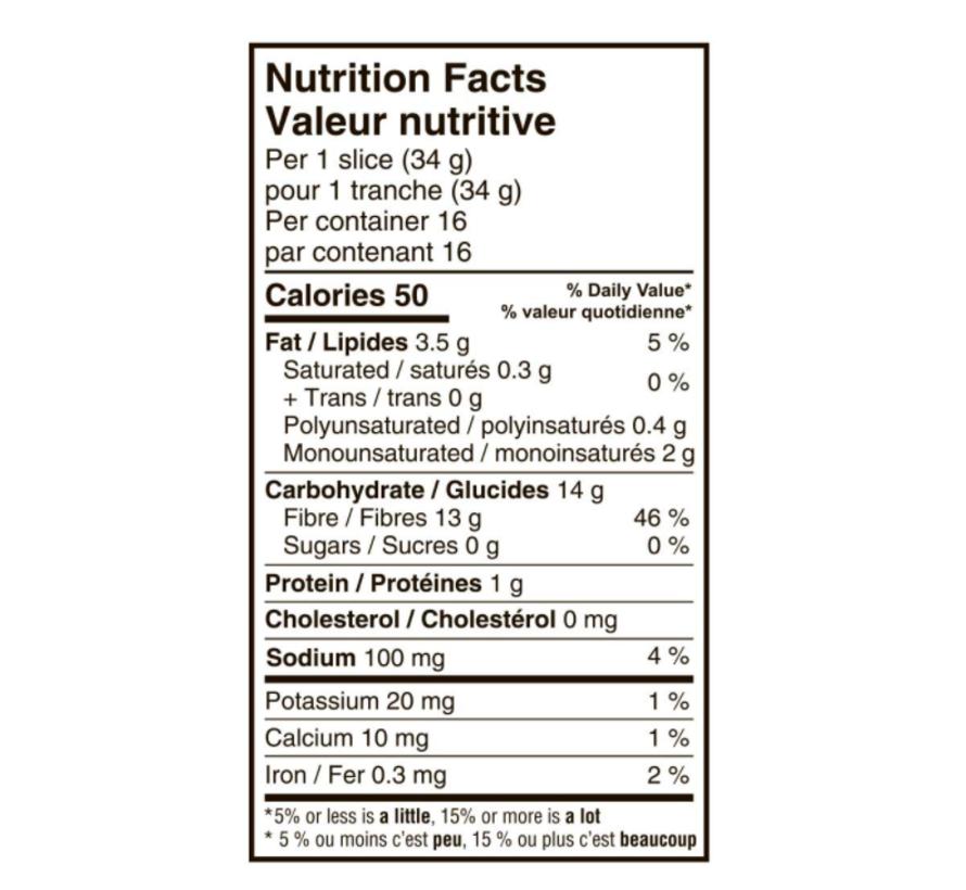 Pain tranché multigrain sans gluten 550g – Carbonaut