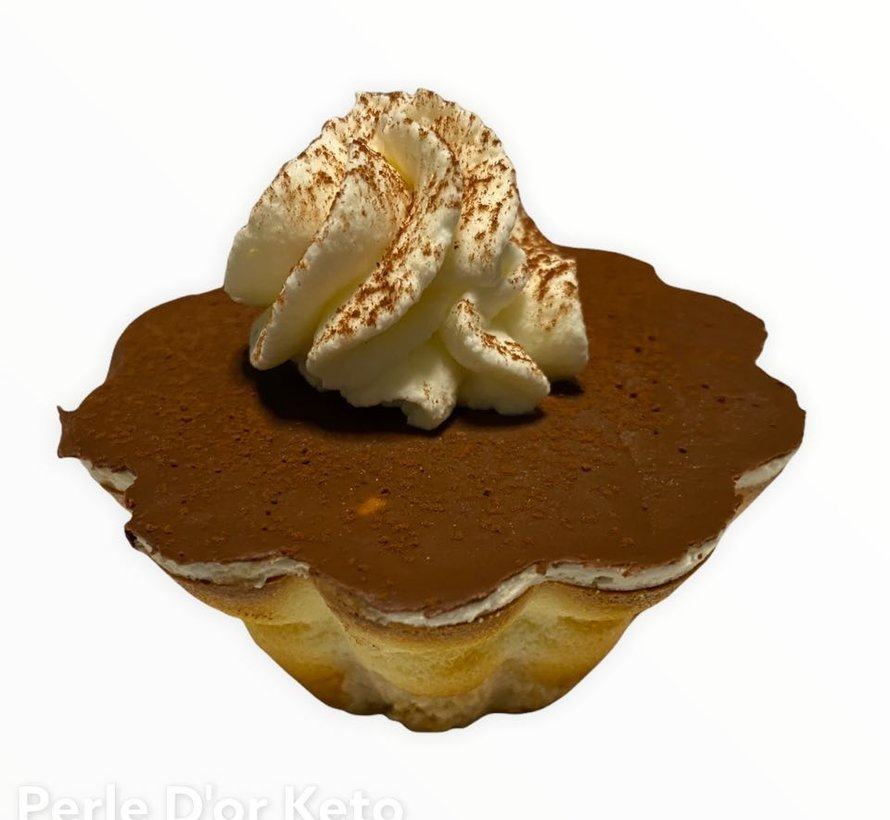 Petit gâteau au fromage Keto, chocolat (glu: 5 g)
