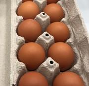 Ferme Avicole Yves Labelle 12 oeufs bruns frais de poules en libertés