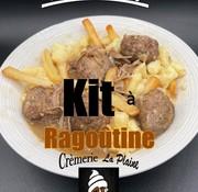 Crèmerie La Plaine Kit à Ragoûtine Keto (glu: 11 g)
