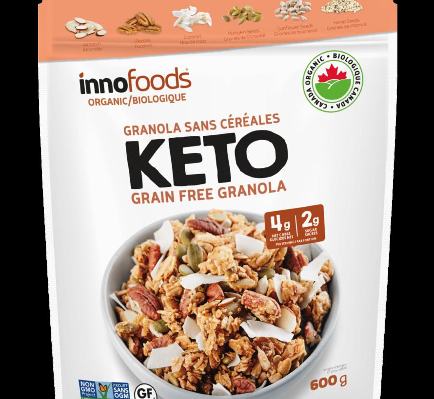 Granola sans céréales Kéto, 600g