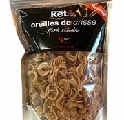 Franchement Kéto Oreilles de crisse (200g - Ketchup)