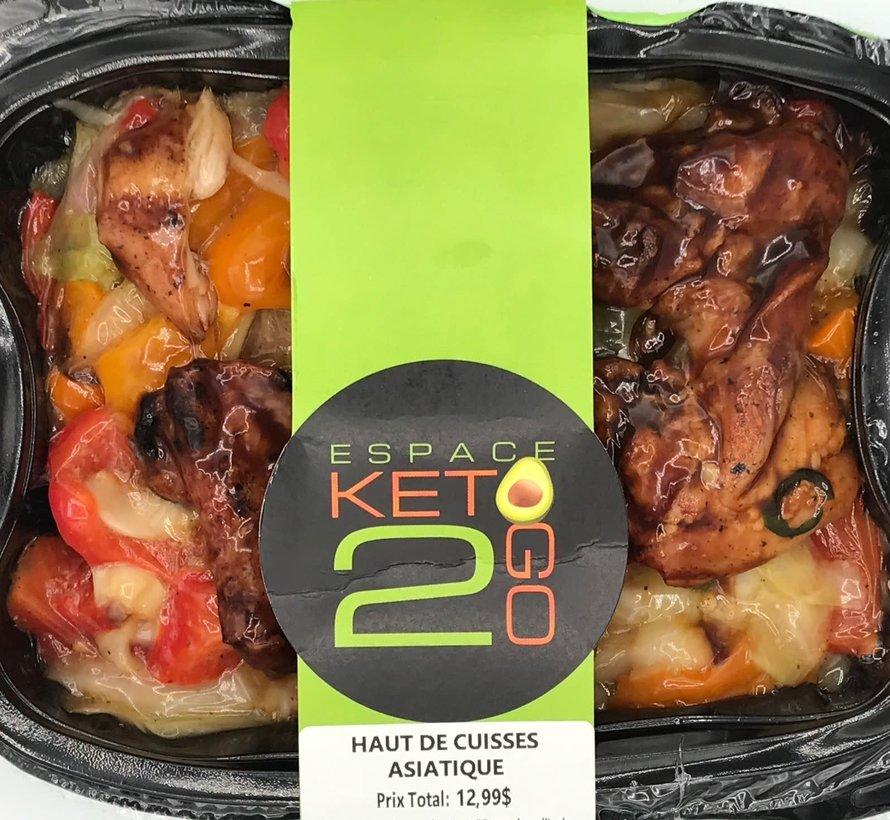 Haut de cuisse asiatique keto (glu: 10,5 g)
