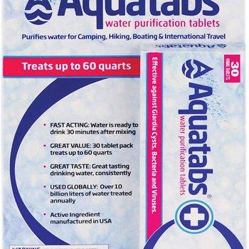 MSR Aquatabs Water Purification Tablets (30)