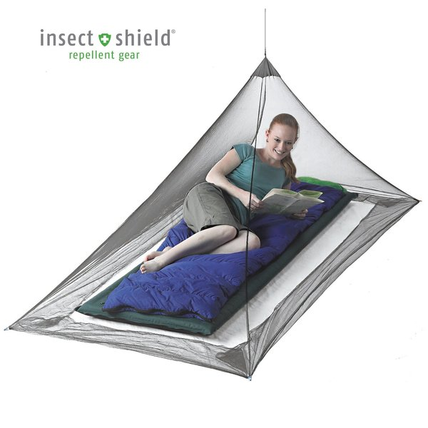 Sea to Summit Nano Pyramid Net Shelter - Single with Insect Shield
