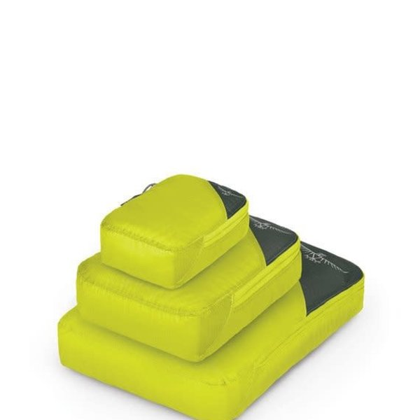 UL Packing Cube Set Electric Lime S/M/L