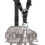Petzl TOP CROLL chest harness BLACK/YELLOW