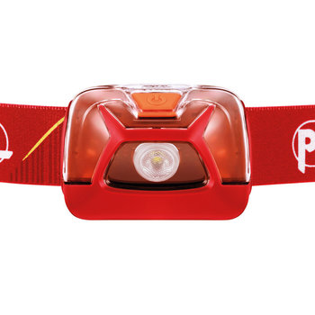 Petzl TIKKINA HEADLAMP RED 250L